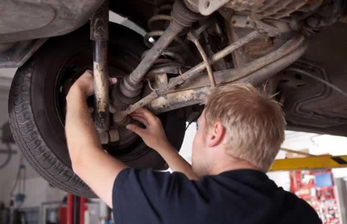 vehicle suspension check